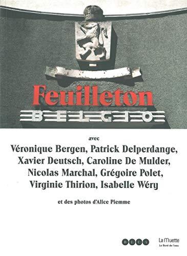 9782356872159: Feuilleton