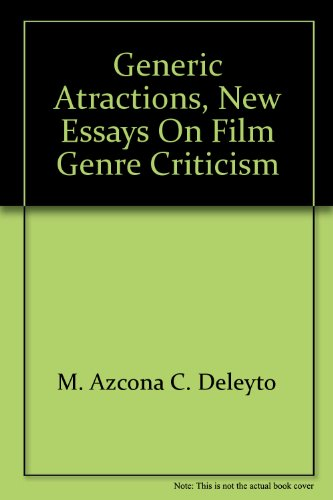 9782356920331: Generic Atractions, New Essays on Film Genre Criticism