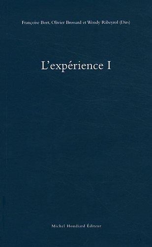 9782356920713: L'expérience : Tome 1