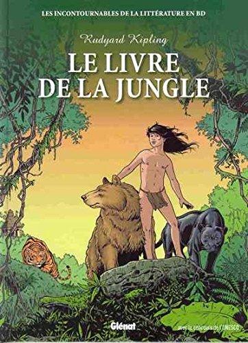 9782357100862: Les incontournables de la littérature en BD : Le Livre de la Jungle