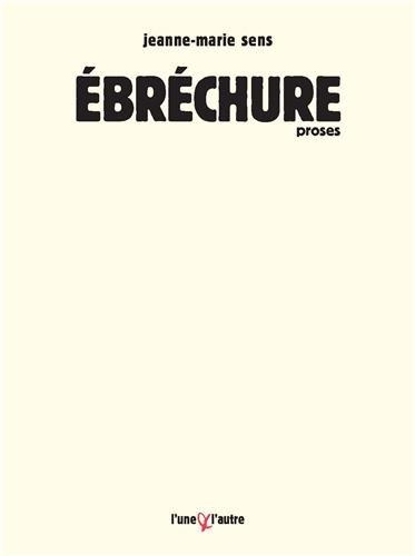 9782357290778: Ebrechure