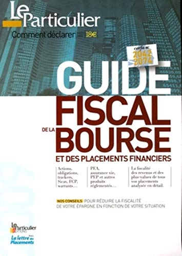9782357310308: Guide fiscal de la Bourse et des placements financiers