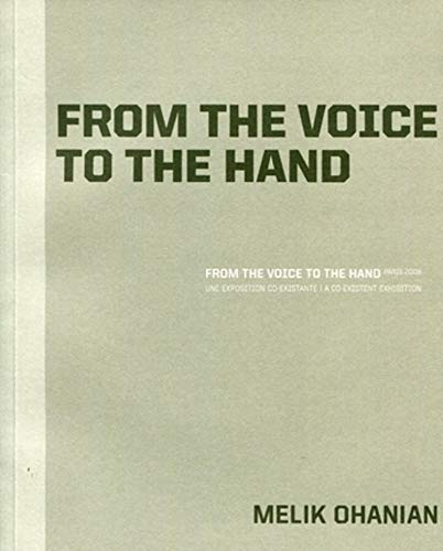 9782357330467: From the voice to the hand (French Edition)