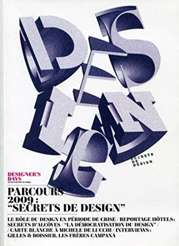 9782357330672: Designer's Days : Parcours 2009 (French Edition)