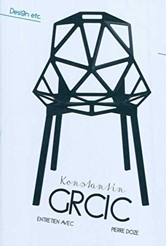 9782357331181: Konstantin GRCIC (French Edition)