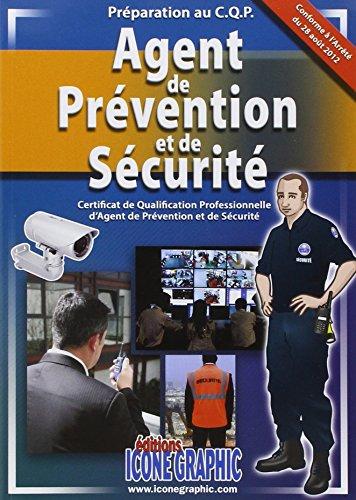 9782357382732: Livre Preparation au C.Q.P. Agent de Prevention et de Securite