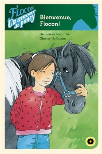 9782357541245: Flocon un amour de poney, Bienvenue flocon !