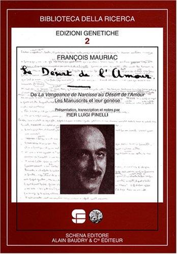9782357550186: Le desert de l'amour (Biblioteca della ricerca)