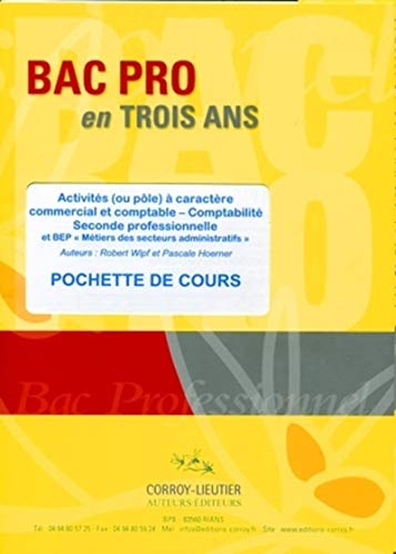 9782357650701: Activites (ou pole) a caractere commercial et comptable (French Edition)