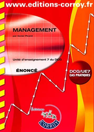 9782357651890: Management énoncé - Unité d'enseignement 7 du DCG (Pochette)