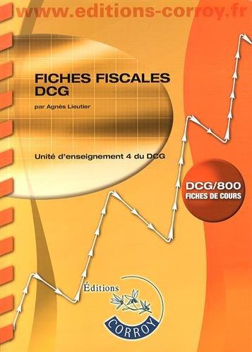 9782357654198: Fiches fiscales UE 4 du DCG