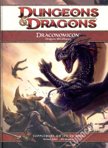9782357830370: Play Factory - Dungeons & Dragons 4.0 : Draconomicon 2 - Dragons Métalliques
