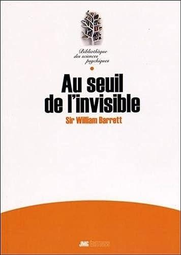9782357840188: Au seuil de l'invisible