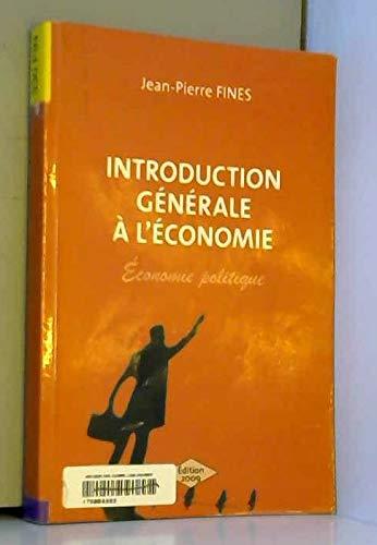 9782357970076: introduction générale à l'economie