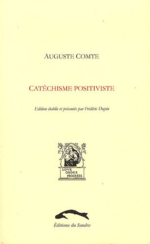 9782358210171: Catechisme positiviste