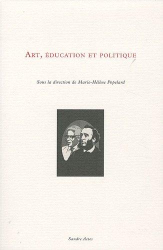9782358210607: art,education et politique