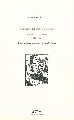 9782358210683: Bohème et révolution : Journaux intimes (1910-1924)