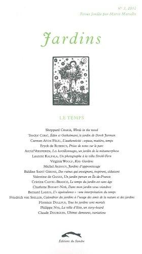 Jardins, N° 3, 2012 : Le Temps: Marco Martella; Collectif