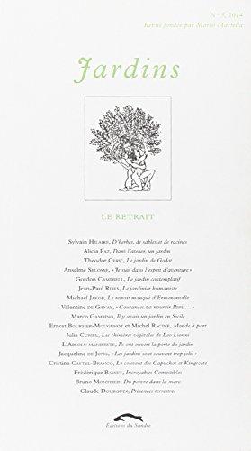 Jardins, N° 5, 2014 : Marco Martella