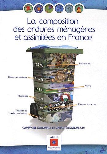 9782358380935: La composition des ordures menageres et assimilees en France (French Edition)