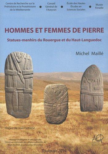 9782358420044: Hommes et femmes de pierre : Statues-menhirs du Rouergue et du Haut-Languedoc