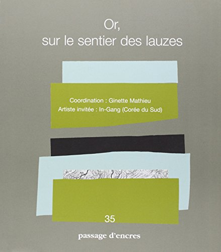 Passage d'encres, N° 35 (French Edition): Collectif
