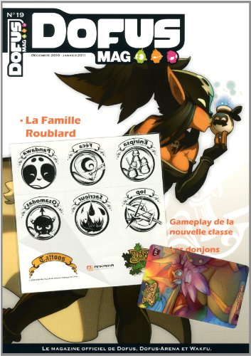 9782359101409: Dofus mag, N° 19, Décembre 2010 (French Edition)