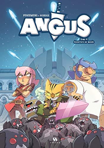 9782359104547: Angus, Tome 4 : Aventure au musée