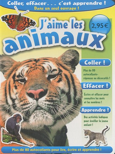 9782359140415: J'aime les animaux (French Edition)