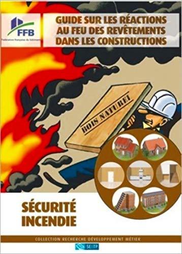 9782359170269: Guide sur les reactions au feu des revetements dans les constructions (French Edition)