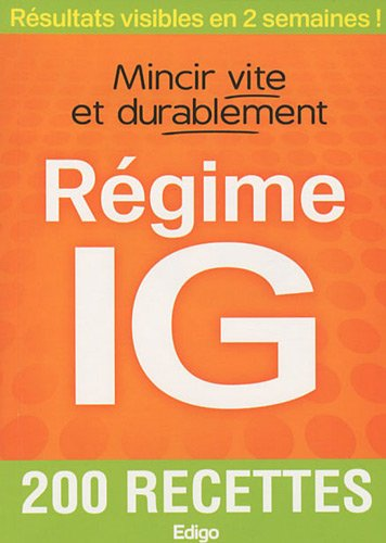 9782359330175: Régime IG (French Edition)