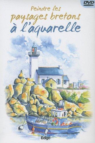 9782359330434: Peindre les paysages bretons à l'aquarelle (1DVD)