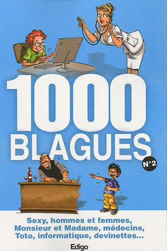 9782359330595: 1000 blagues : Tome 2