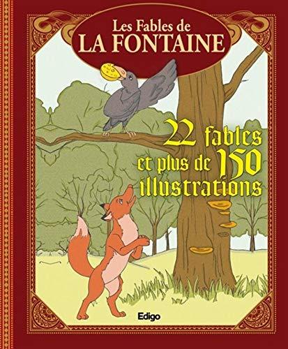 9782359331813: Les fables de la Fontaine, 22 fables et plus de 150 illustrations