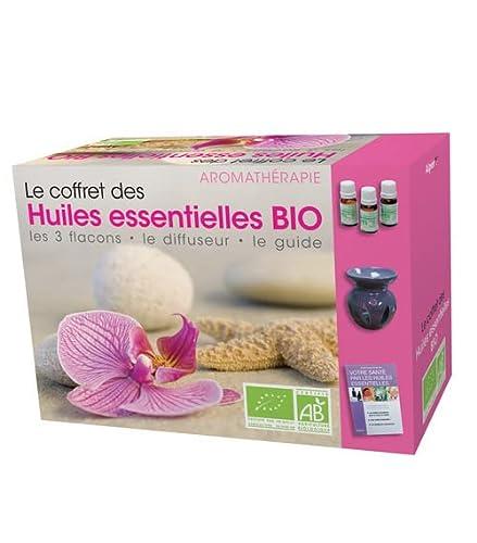 9782359341355: Le coffret des Huiles Essentielles Bio - 3 flacons, 1 diffuseur, 1 guide