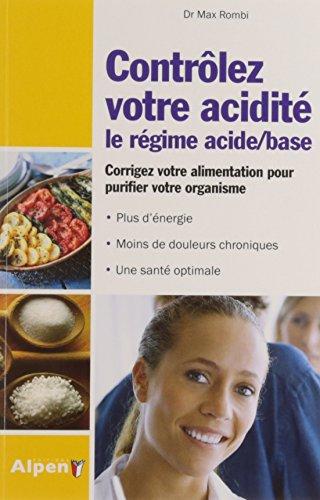 9782359343120: Controlez-votre-acidité