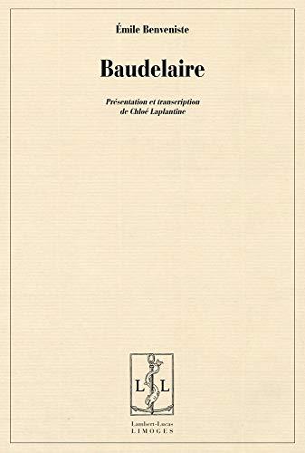 9782359350067: Baudelaire