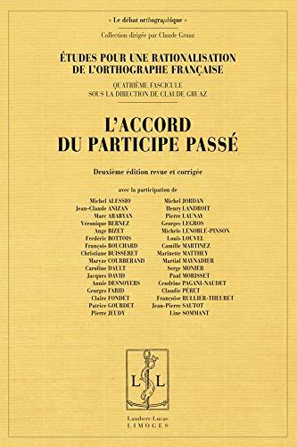 9782359350814: L'Accord du Participe Passe (Deuxième Edition revue et corrigée)