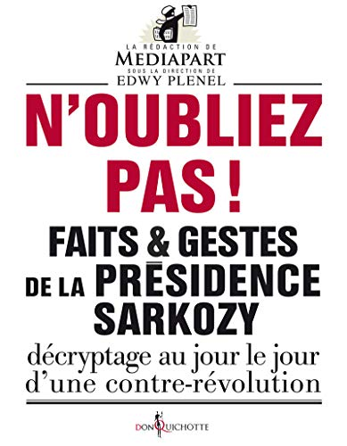 N'oubliez pas!: Collectif