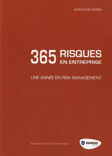 9782359530988: 365 risques en entreprise