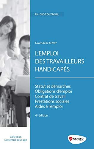 9782359533613: L'emploi des travailleurs handicapés