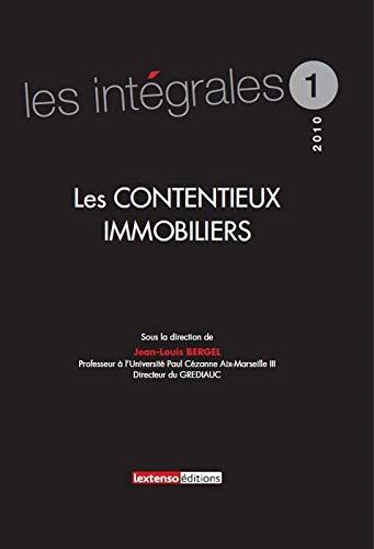 Les contentieux immobiliers: Collectif