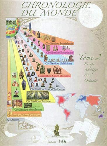 9782359720181: Chronologie du monde : Tome 2, Europe, Amérique, Asie, Océanie