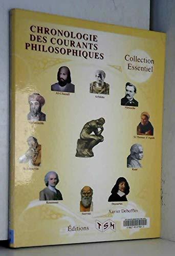 9782359720372: CHRONOLOGIE DES COURANTS PHILOSOPHIQUES (NOUVEAUTÉ ! SEPTEMBRE 2012)