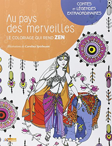9782359851373: Coloriages contes et légendes extraordinaires
