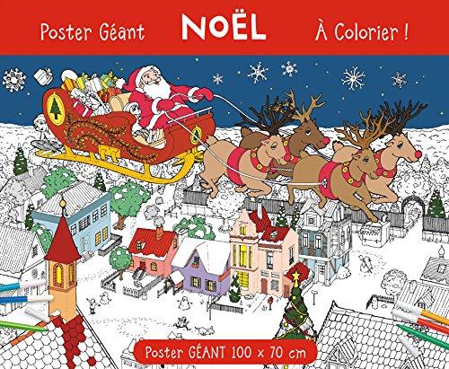 9782359901634: Poster géant Noël à colorier