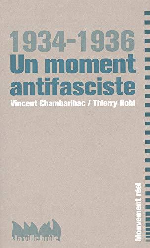 1934-1936: un moment antifasciste: Chambarlhac, Vincent