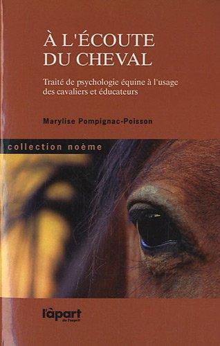 9782360330102: A l'écoute du cheval