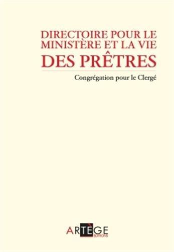 9782360402472: Directoire pour le ministère et la vie des prêtres