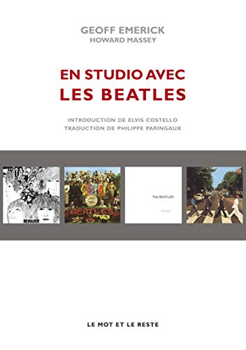 9782360541454: En studio avec les Beatles : Les mémoires de leur ingénieur du son